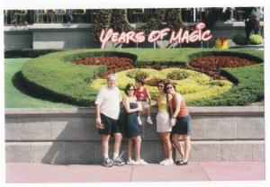 Em 2002, com o pedro ainda pequenino