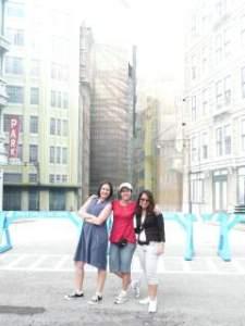 Eu, Bega e Lu em NY. Ou seria Hollywood? Ou talvez Orlando?