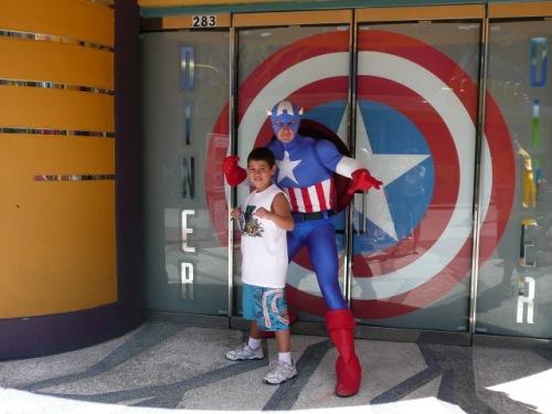 Pedro e Capitão América