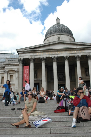 Trafalgar Square + National Gallery