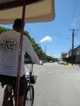 Turistando no rickshaw